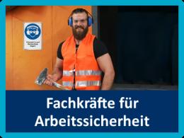 Gestellung von Fachkräften für Arbeitssicherheit
